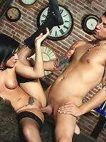 Tori Lux and Chad Alva
