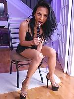 Jade Marcela - Glass Dildo