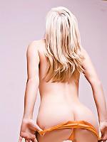 Larissa Vanity - Orange Panties
