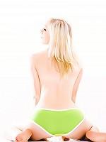 Larissa Vanity - Green Panties