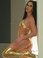 Taylor Rain - Golden Boots