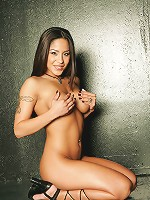 Jenaveve Jolie - Pink Silk Panties