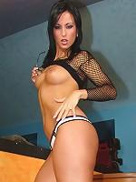 Simone Styles - Sexy Fishnet Top