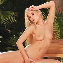 Tania - Hot blonde gets wet and masturbates