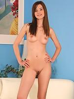 Deana - Limber teen cutie strips and dildos