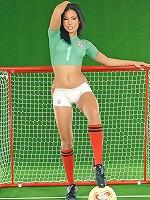 Mexico fan Aneta Keys naked
