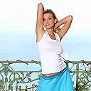 Carli Banks getting naked