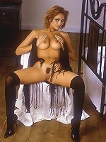 Sexy-Babes.tv (Pics) - Lenka Gaborova - Redhead Lenka Gaborova flashes her thick landing strip