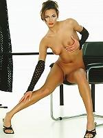 Sexy-Babes.tv (Pics) - Nina - Hot Nina likes to strip and show her sexy naked body