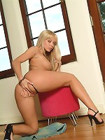 Sexy-Babes.tv (Pics) - Yana Cova - Wild Yana Cova licks glass dildo and rams it in her wet slit