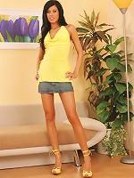 Zoe Montada - Short Jean Skirt