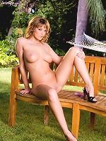 Carli Banks enjoying a dildo inside her soft pussy